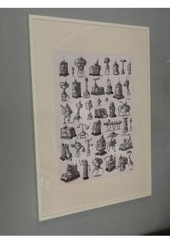 """Colección """"Roböts homologados"""" (Papertoys montables)"""