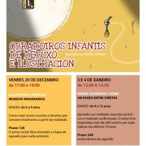 OBRADOIROS INFANTÍS DE DEBUXO E ILUSTRACIÓN